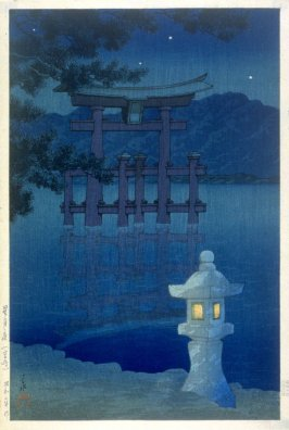 Moonlight at Miyajima