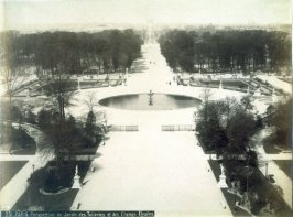 Paris, Perspective du Jardin des Tuileries et des Champs-Elysées ( Paris, View of the Garden of the Tuileries and the Champs-Elysées)