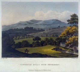 Clwyddian Hills from Newmarket