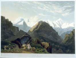 Bheem Ke Udar, from the series 'Views in the Himalaya Mountains'
