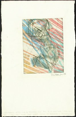 Untitled (Abstract Nude Woman)
