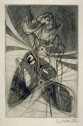 Figure (Greeting Card for 1946-47)