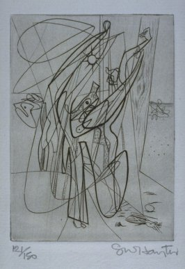 Untitled, illustration 7, in the portfolio Solidarité by Paul Eluard (Paris: G.L.M., 1938)