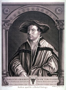 Portrait of Johannes Holbein