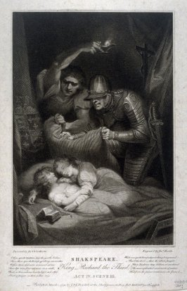 Richard III, Act IV, Scene III