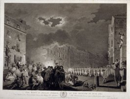 The Riot in Broad Street, on the Seventh of June, 1780.