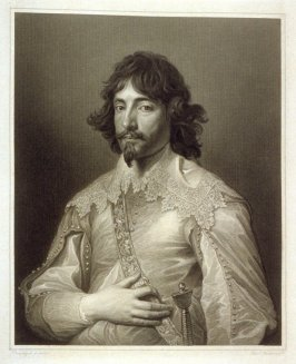 Gentleman of the Court of King Charles the First, eleventh plate in the book, [Buchanan's Gallery], an untitled collection of engravings primarily from Select Work of Engravings (London: Historic Gallery, 1813-14)]