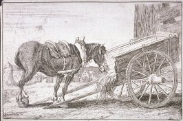 [Horse and cart]