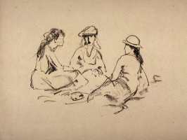 Three Women Seated