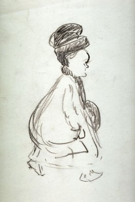 Study of Woman Walking