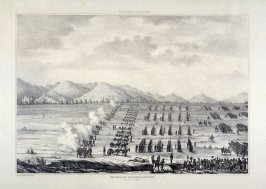 Batalla de Guadalupe/ Octubre de 1841 (Battle of Guadalupe/ October 1841), a page from an unidentified historical album