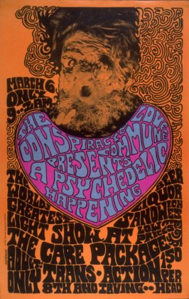 The Conspiracy Love Commune Presents - A Psychedelic Happening, March 6, 8th & Irving