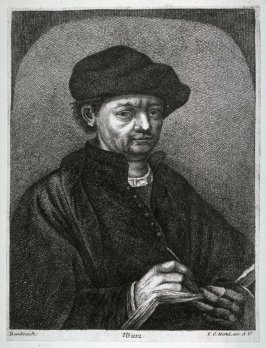 Man with book and quill