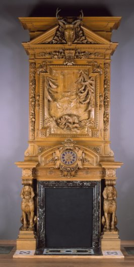 Mantelpiece for Thurlow Lodge, Menlo Park, California