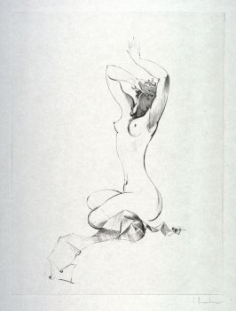 Amors Bogen (Eight drypoints of nudes)