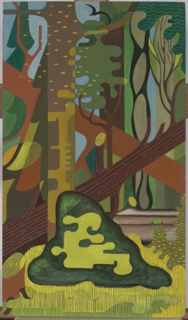 Tapestry Design (Redwood Forest)
