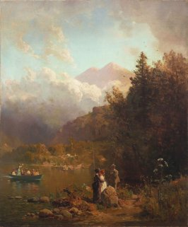 Fishing Party in the Mountains