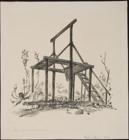 Old Gallows, Downieville, California