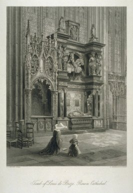 Tomb of Louis de Breze, Rouen Cathedral