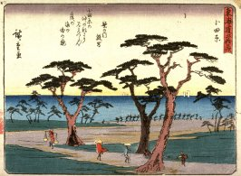 Odawara, no. 10 from a series of Fifty-three Stations of the Tokaido (Tokaido gojusantsugi)