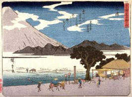 Numazu, no. 13 from a series of Fifty-three Stations of the Tokaido (Tokaido gojusantsugi)