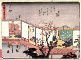 Ishibe, no. 52 from a series of Fifty-three Stations of the Tokaido (Tokaido gojusantsugi)