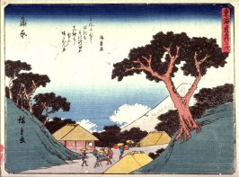 Kambara, no. 16 from a series of Fifty-three Stations of the Tokaido (Tokaido gojusantsugi)