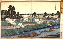 Azuma Grove (Azuma no mori), from a series Famous Places in the Eastern Capital (Toto meisho)