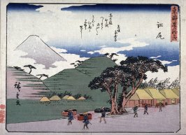 Ejiri, no. 19 from a series of Fifty-three Stations of the Tokaido (Tokaido gojusantsugi)