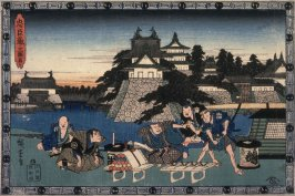 Act 3 (Sandamme) from the play Storehouse of Loyalty (Chushingura)