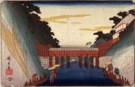 Tea WaterCanal (Ochanomizu), from a series Famous Places in the Eastern Capital (Toto meisho)