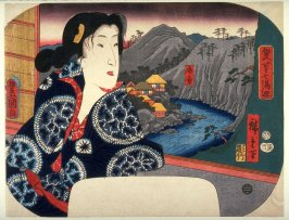 Sokokura, from the series Two Artists Tour the Seven Hot Springs (Sōhitsu shichitō meguri)
