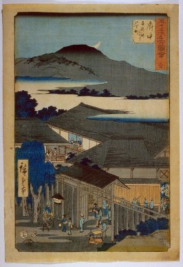 Fuchu, no. 20 from the series Famous Places near the Fifty-three Stations of the Tokaido (Gojusantsugi meisho zue)