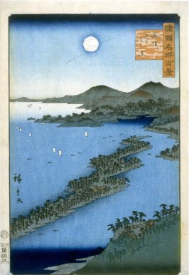 Amanohashidate in Tango Province, from the series One Hundred Famous Places in the Provinces (Shokoku meisho hyakkei)