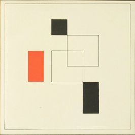 Untitled, Plate I, pg. 61, in the book Staatliches Bauhaus Weimar, 1919 - 1923 by Walter Gropius (Munich: Bauhausverlag, 1923)