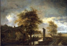 Landscape with a Washerwoman