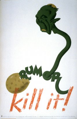 Rumor, Kill It - World War II Poster