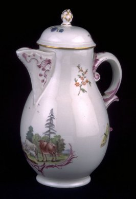 Coffeepot with lid