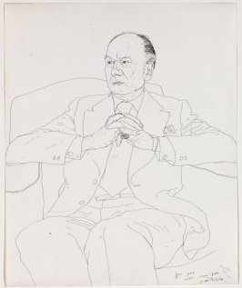 Portrait of Sir John Gielgud