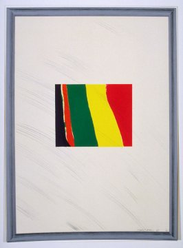 Picture of a Pointless Abstraction Framed under Glass, plate 5 from the series A Hollywood Collection