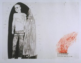 "Plate No. 4A, "" Marries an Old Maid,"" in the portfolio A Rake's Progress (London: Editions Alecto, The Print Centre, 1963)"