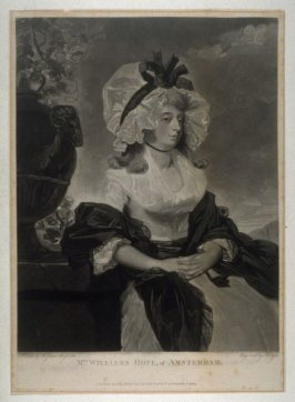 Portrait of Mrs. William Hope, of Amsterdam
