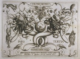 Part Three, Title page, plate of the book, Archetypa studiaque patris… (Frankfurt: n. p., [15]92), parts 1-4 in 1 vol.