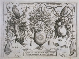 Part Two title page, plate of the book, Archetypa studiaque patris… (Frankfurt: n. p., [15]92), parts 1-4 in 1 vol.