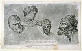 Four Heads from the Raphael Cartoons at Hampton Court
