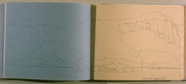 Trinity Island/ Mikelson Bay, thirtieth image from Travel Sketchbook of Antarctica