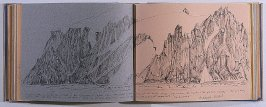 Elephant Island, forty-fifth image from Travel Sketchbook of Antarctica