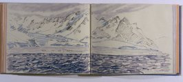 King Penguin Rookery, Salisbury Plain, The Bay of Isles, sixty-second image from Travel Sketchbook of Antarctica