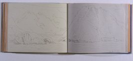 The Bay of Isles, sixty-third image from Travel Sketchbook of Antarctica