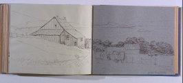\McGill Farm (Camp), sixty-ninth image from Travel Sketchbook of Antarctica